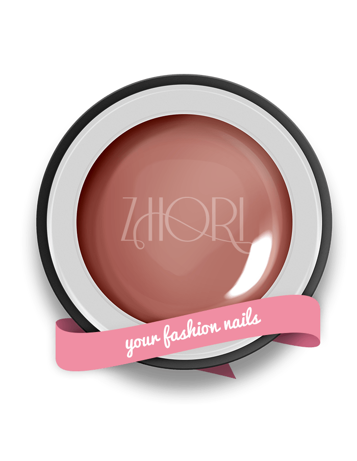 DARK ROSE gel color nude - N02 - Zhori.it