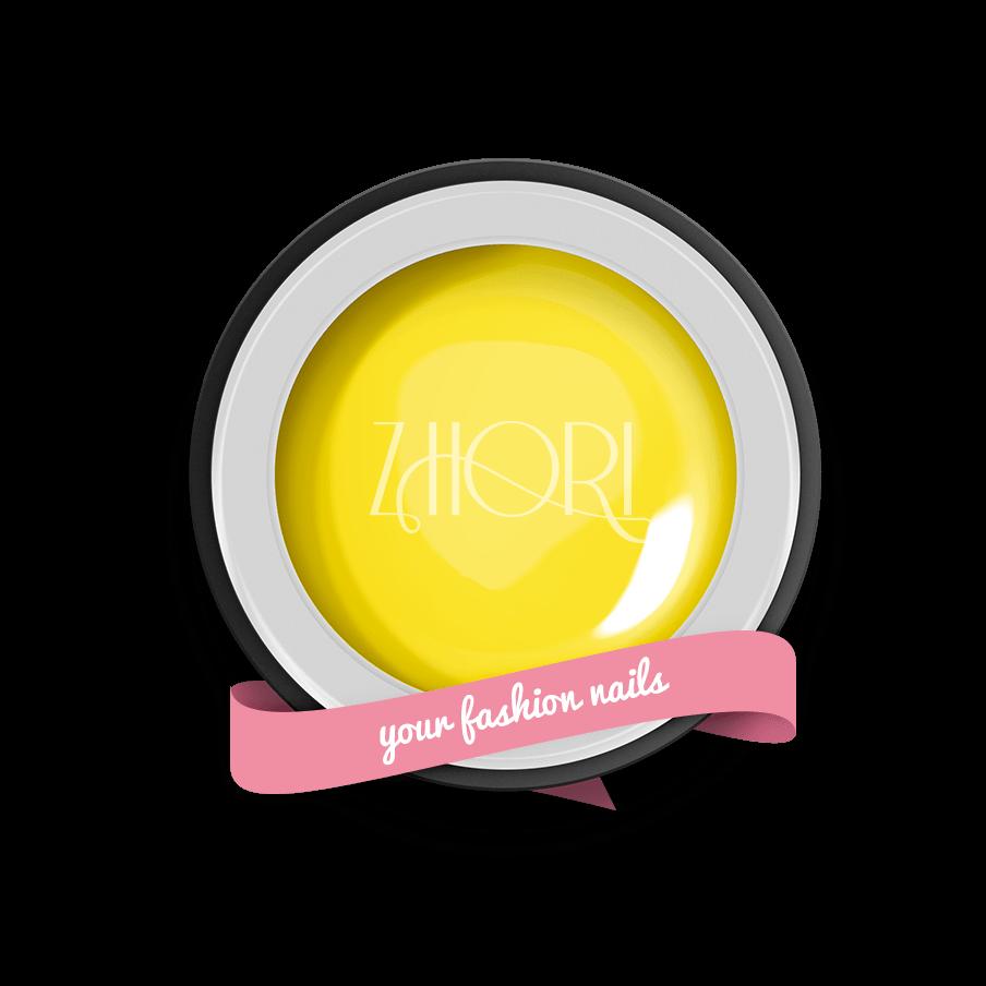 Giallo Limone gel color Classic UV Led Zhori CL13