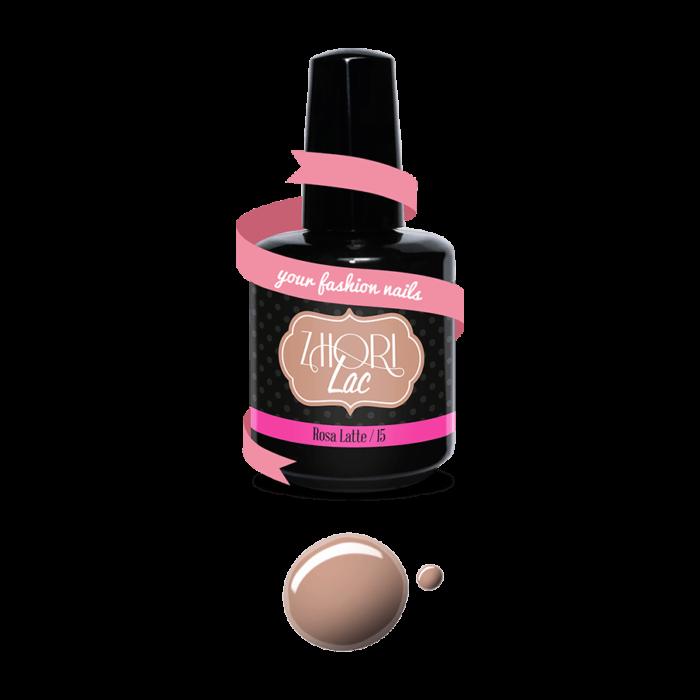 Smalto Rosa Latte Semipermanente UV-Led N. 15 Zhori Lac