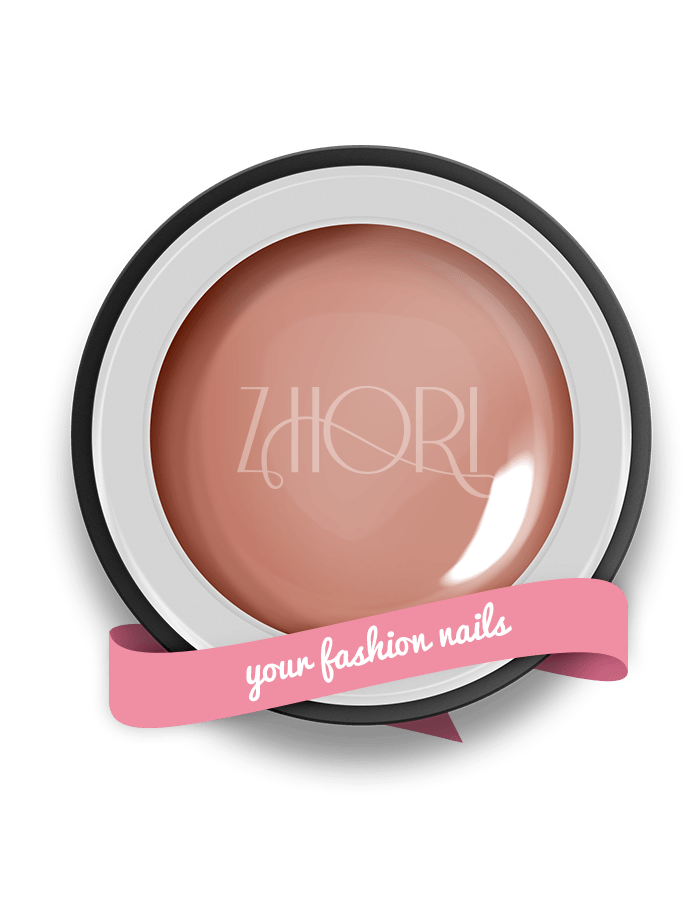 Skin Rose gel color nude - N01 - Zhori.it