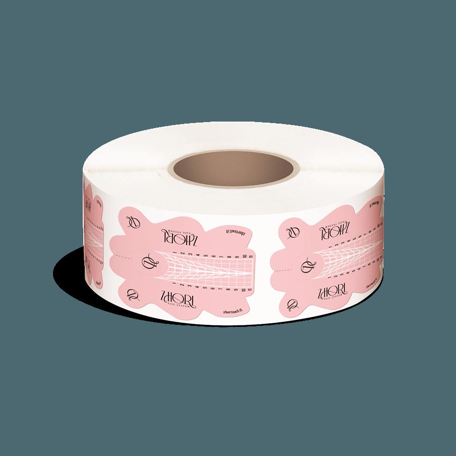 Formine Cartine per ricostruzione unghie, per Allungamento Nail Form Exclusive xl - Zhori.it