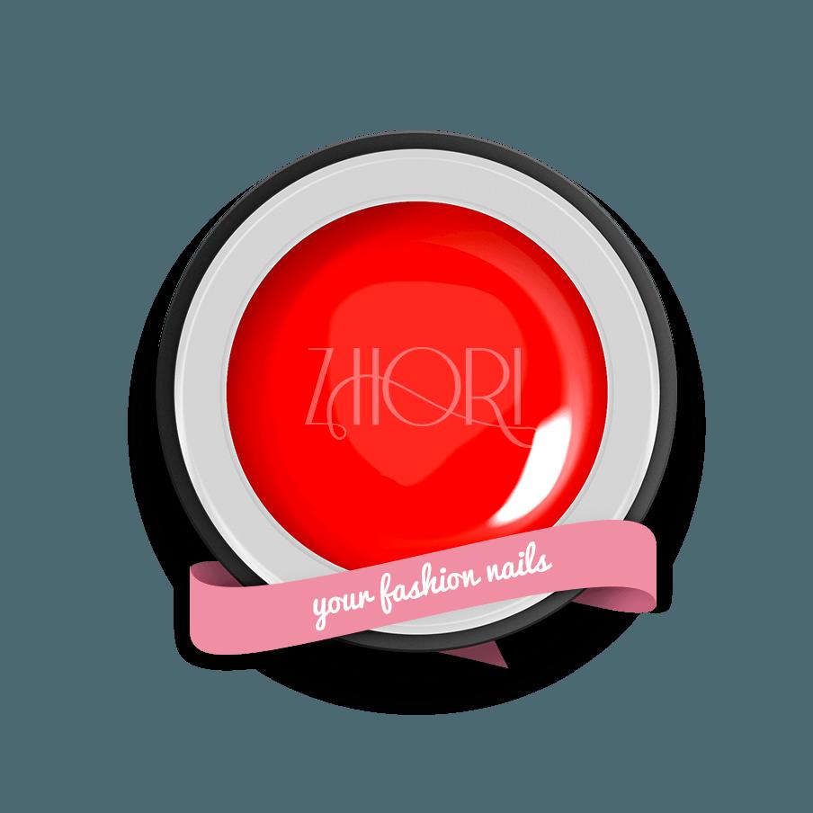 Ruby gel color Classic UV Led Zhori CL43