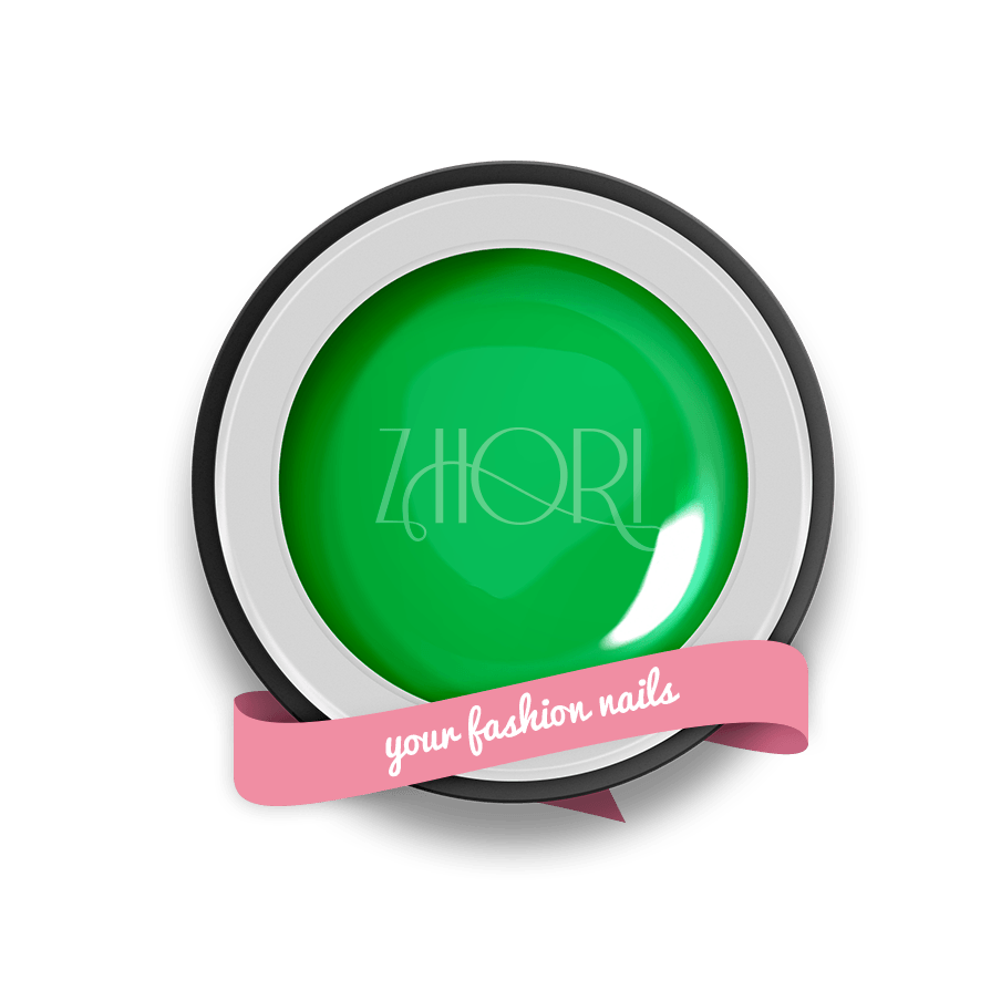 Verde gel color Classic UV Led Zhori CL40