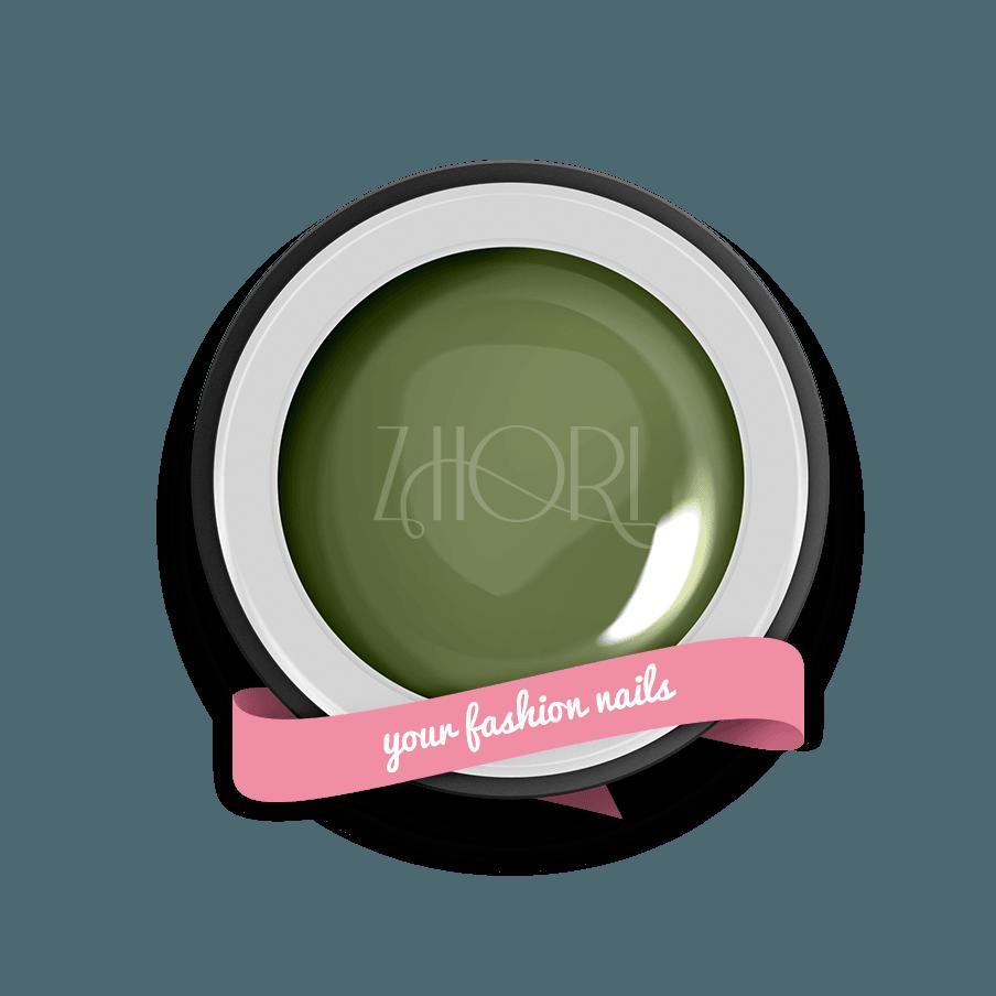 Verde Militare gel color Classic UV Led Zhori CL52