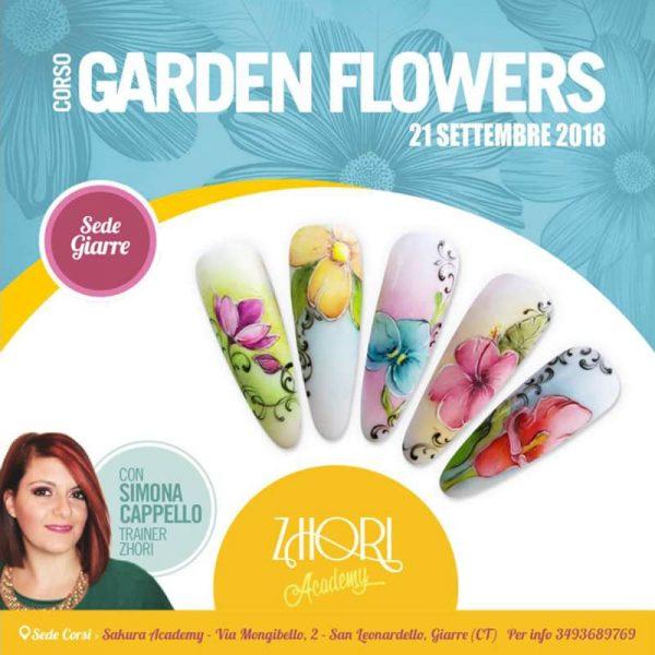 Corso Micropittura Garden Flowers Giarre - Zhori.it