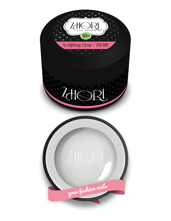 Sculpting Clear 50ml Gel modellante - Zhori.it